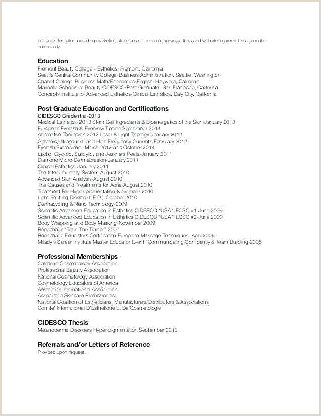 Cosmetology Resume Sample Recent Graduate Recent Graduate Resume Objective – Paknts