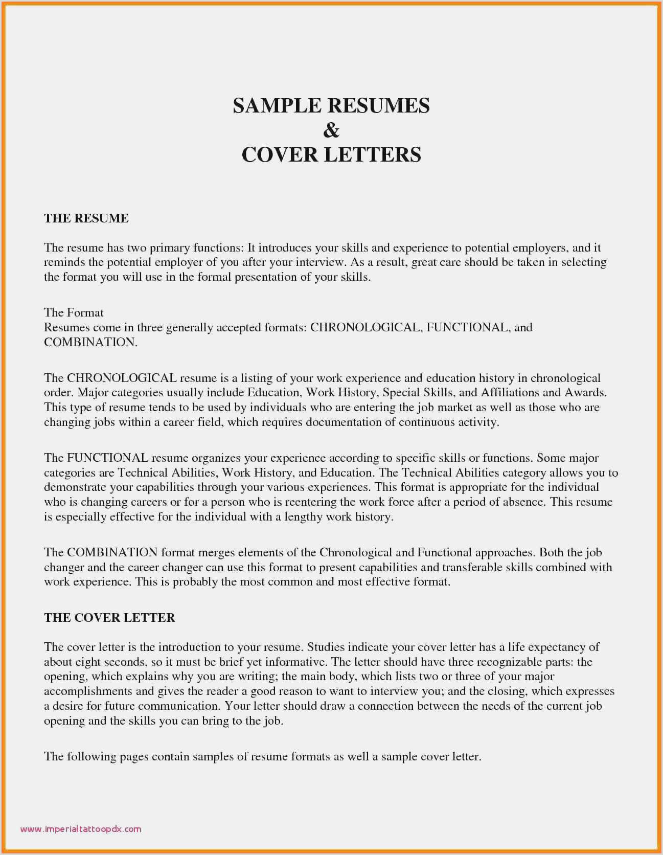 Free Collection 60 Resume Templats Example