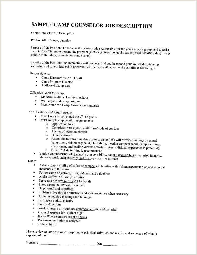 School Counselor Resume Sample Unique Free Cv Luxury Free