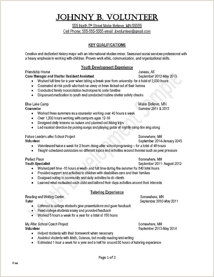 Counselor Resume Template Resume Template Creative Examples Free Creative Resume