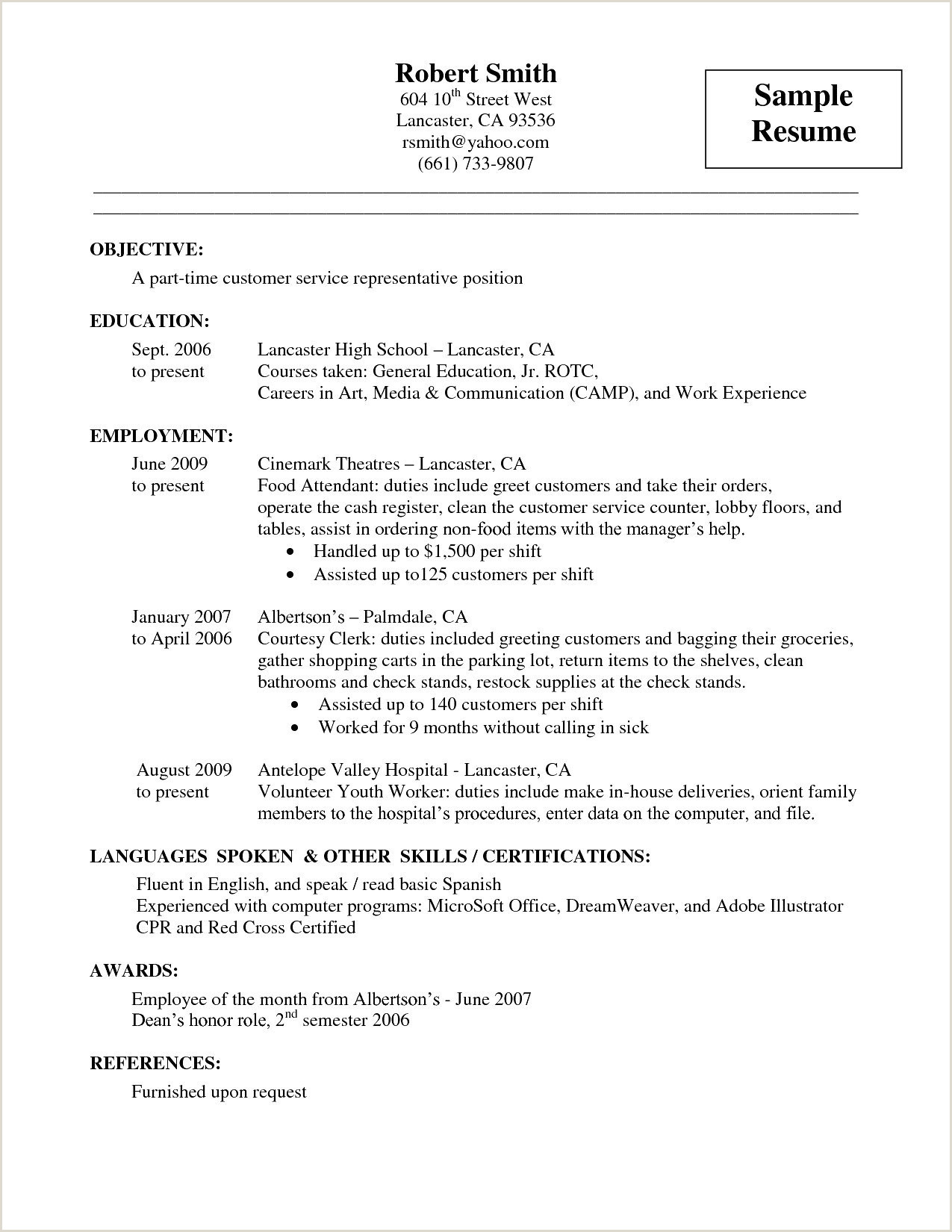 Levels Fluency Resume Luxury Cleaning Experience Cover