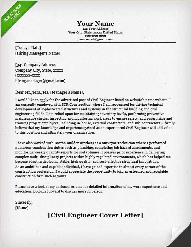entry level civil engineer cover letter example NA