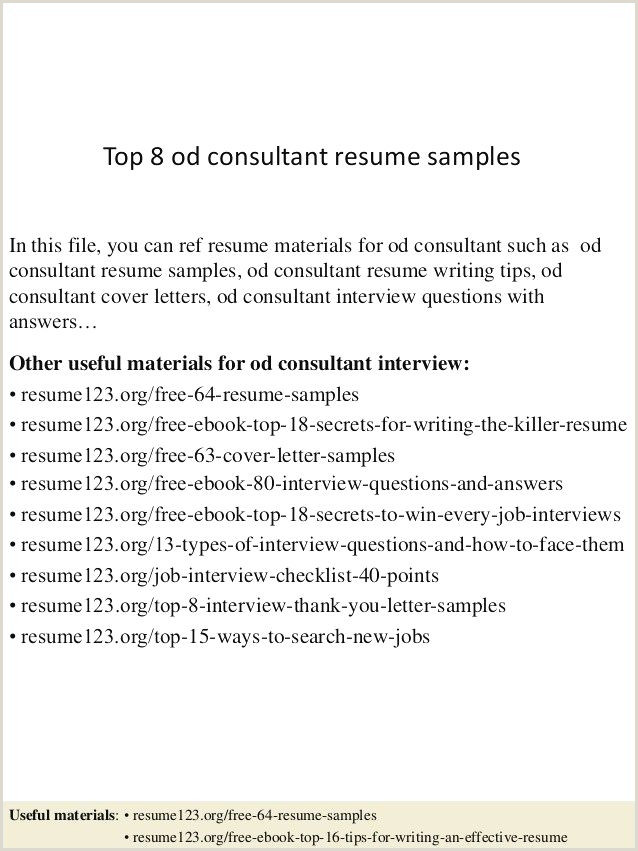 69 Awesome Collection Sample Resume for Customer Service