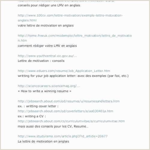 Lettre De Motivation Marketing Cover Letter for Munity