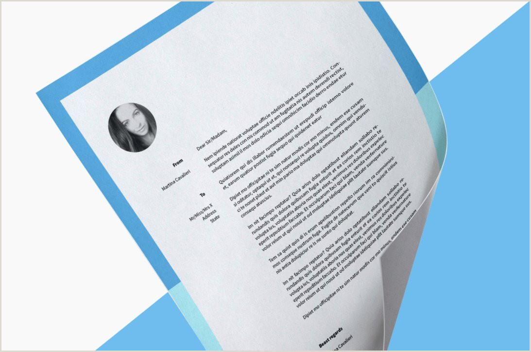 "Wizbii on Twitter ""12 stylish cover letter templates to"