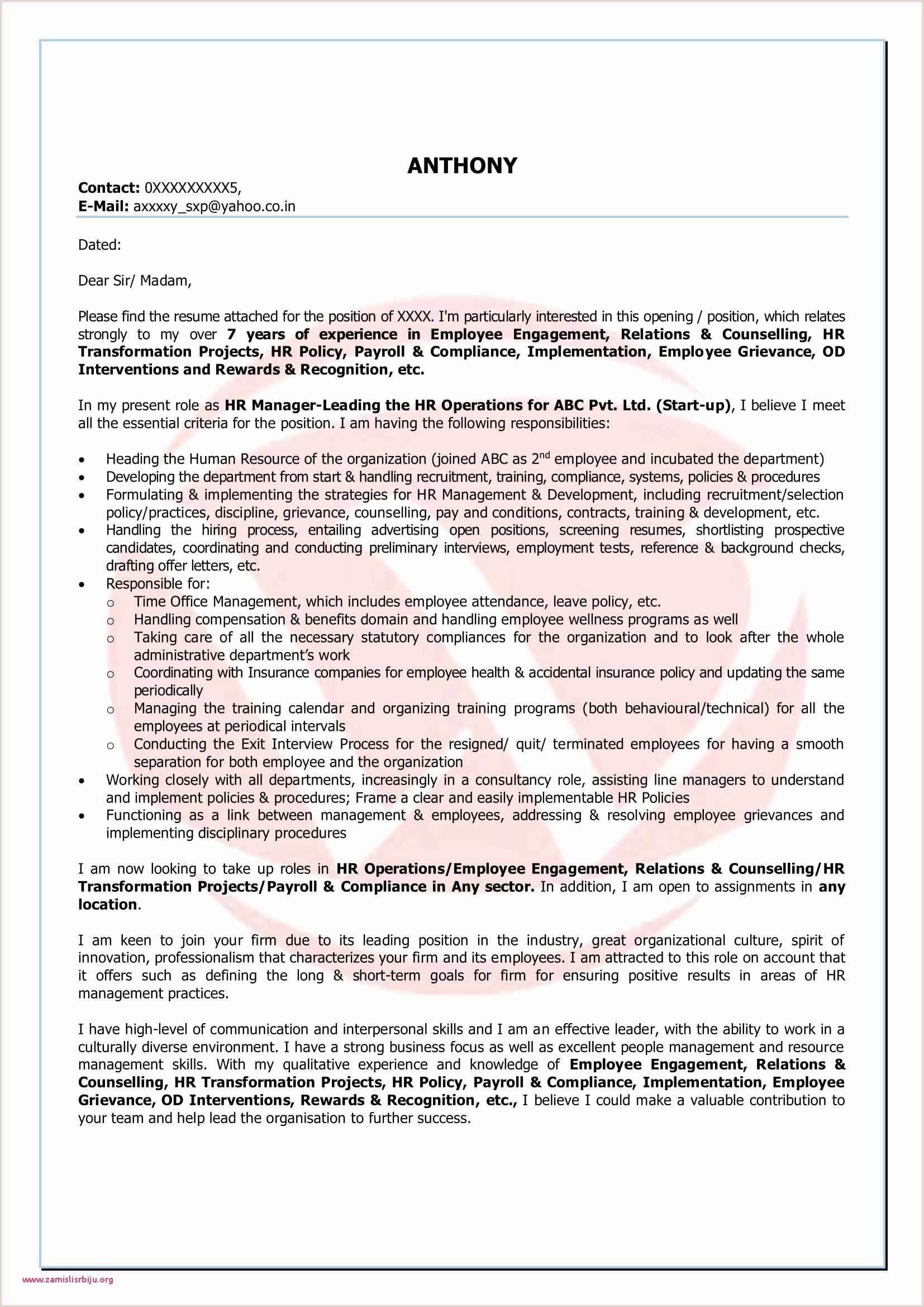 Cover Letter Referred by Friend 70 Professionnel Modelos De Cv