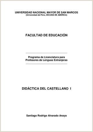 Crear Hoja De Vida Minerva Y Descargar Didáctica Del Castellano I by Unmsm Prolex issuu