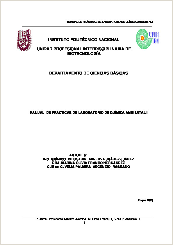 PDF MANUAL DE PRCTICAS DE LABORATORIO DE QUMICA AMBIENTAL
