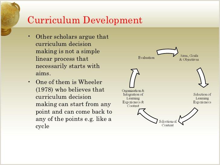 Creative Curriculum Goals and Objectives Curriculum Development