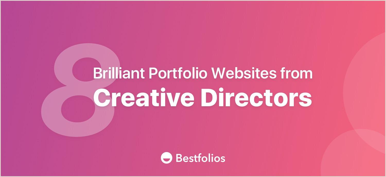 Creative Director Resume Sample Descargar Doc 8 Brilliant Portfolio Websites From Creative