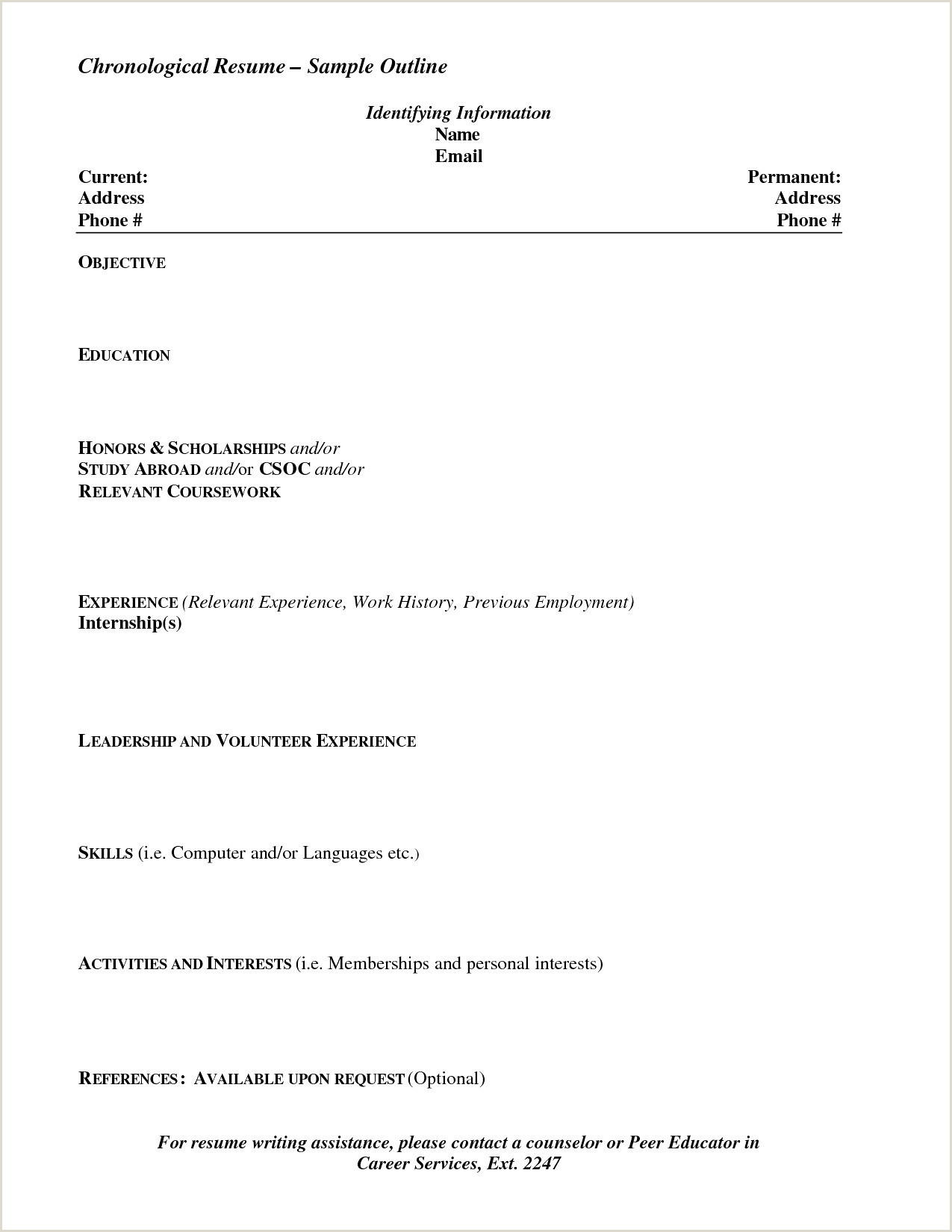 Elegant Creative Sample Resume