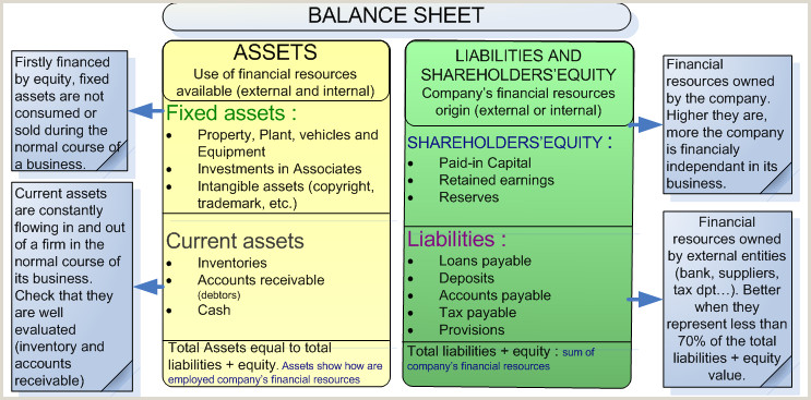 Credit Reference Sheet Template Understand and Analyze the Balance Sheet assess Your Customers
