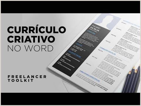 Criar Curriculo Simples Word Videos Matching O Fazer Um Currculo De Sucesso