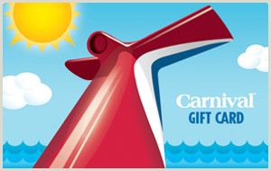 Carnival Cruise Line Buy Plastic Gift Cards