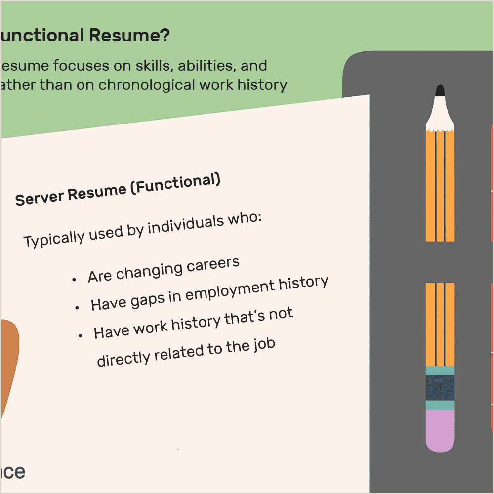 Cs Fresher Cv format What is A Functional Resume