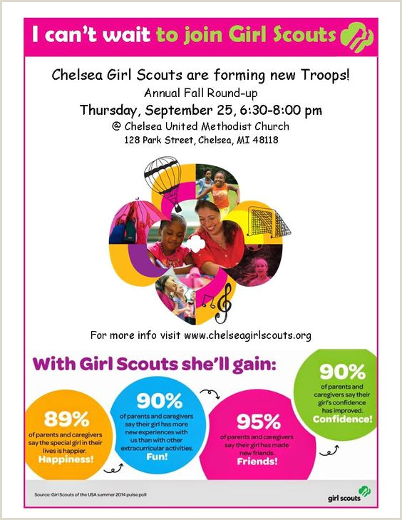 girl scouts adult recruitment flyer Google Search