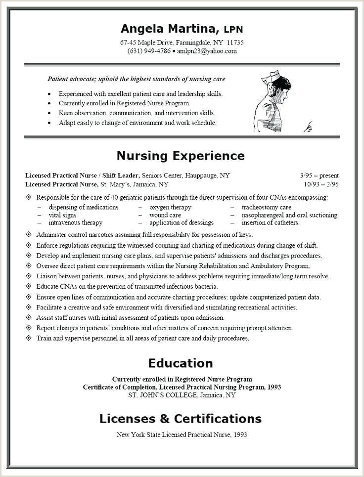 Current Nursing Student Resume Example A Nursing Resume Free Nursing Home Resume