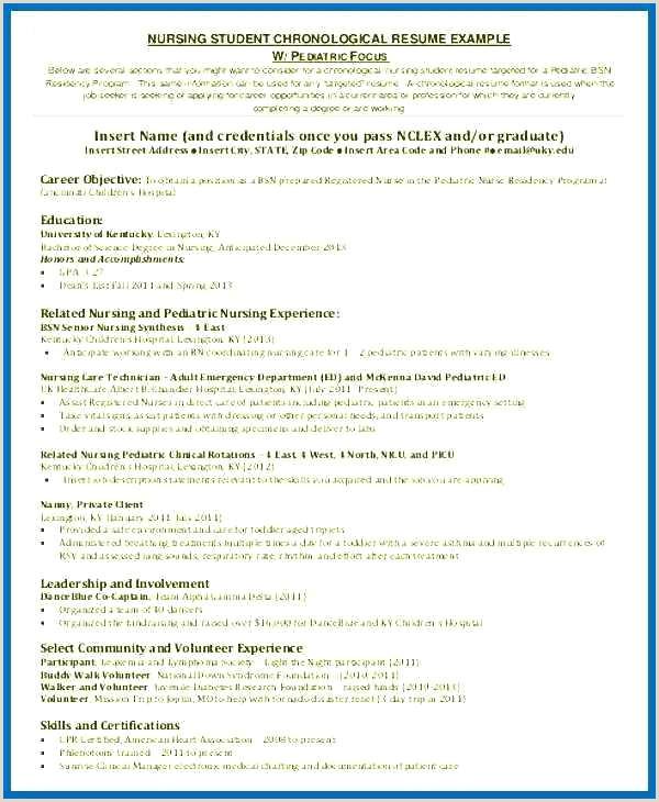 nursing student objective for resume – newskeyfo