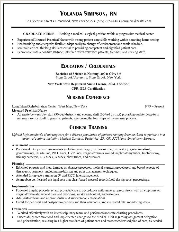 Nursing Student Skills for Resume Beautiful Current Nursing