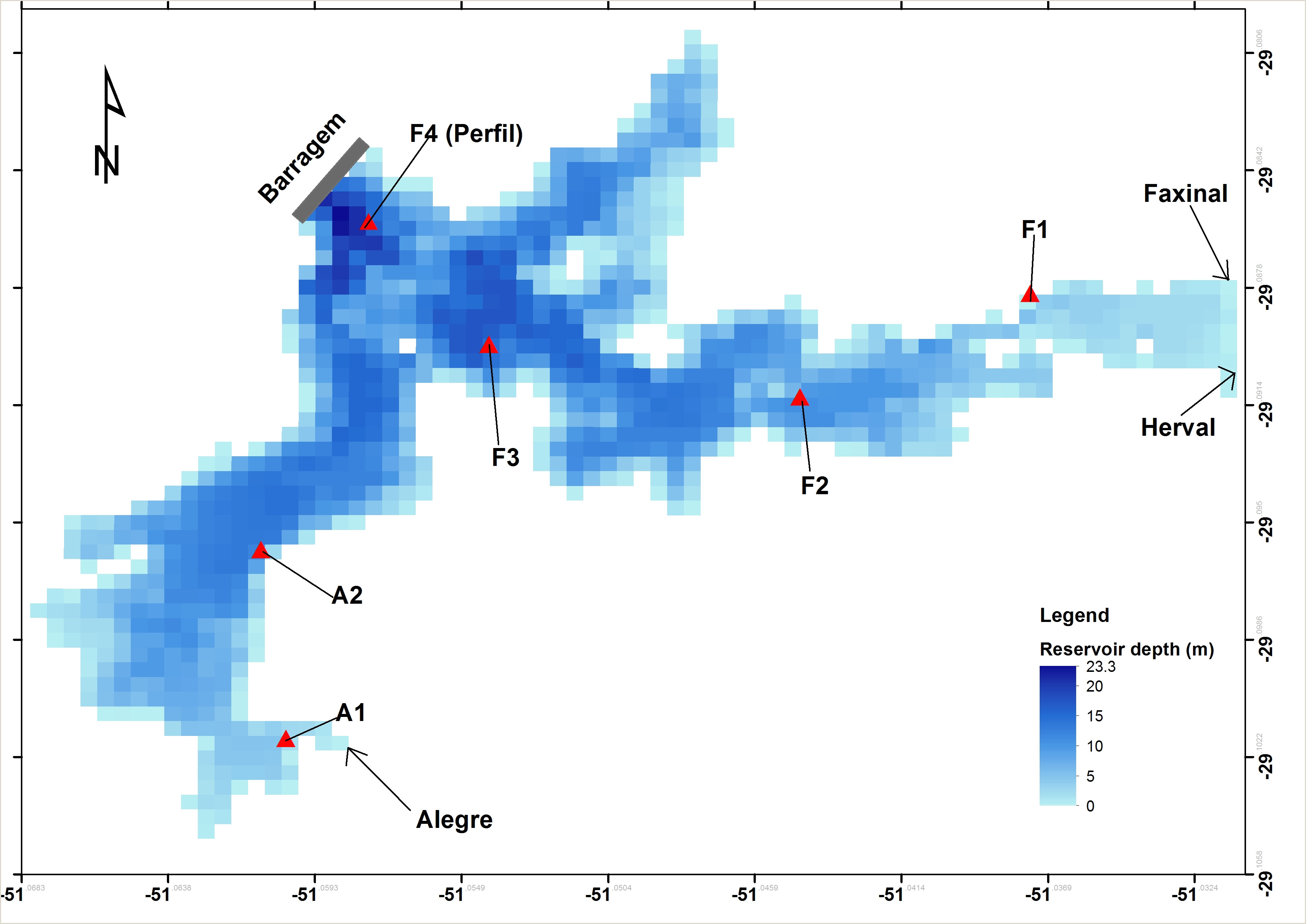 Modeling metabolism in an integrated subtropical watershed