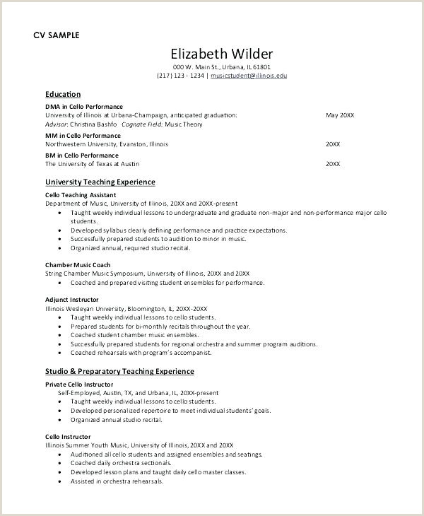 Curriculo Pronto Word Simples Download Curriculum Vitae Template Pdf