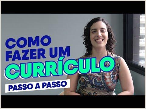Curriculo Pronto Word Simples Primeiro Emprego O Melhor Modelo De Currculo 2019 Pronto Para Baixar E Preencher