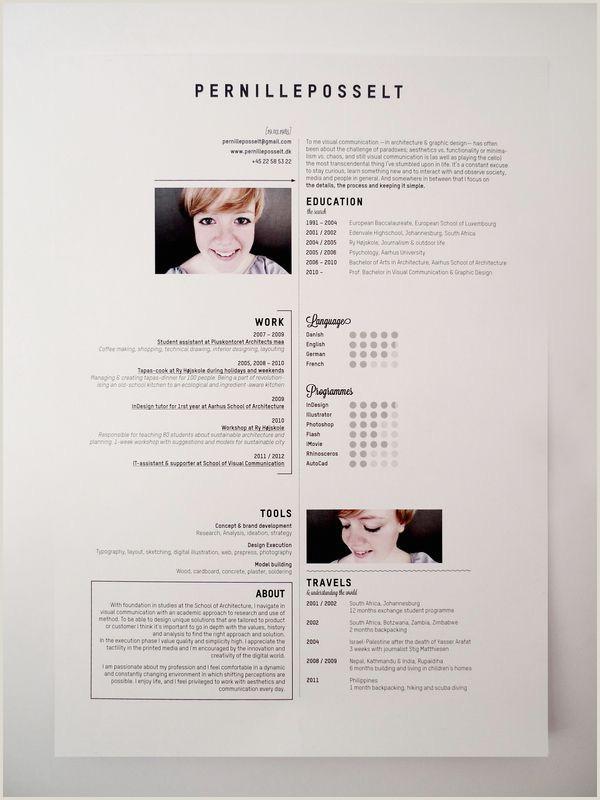 épinglé sur Creative Resume Design