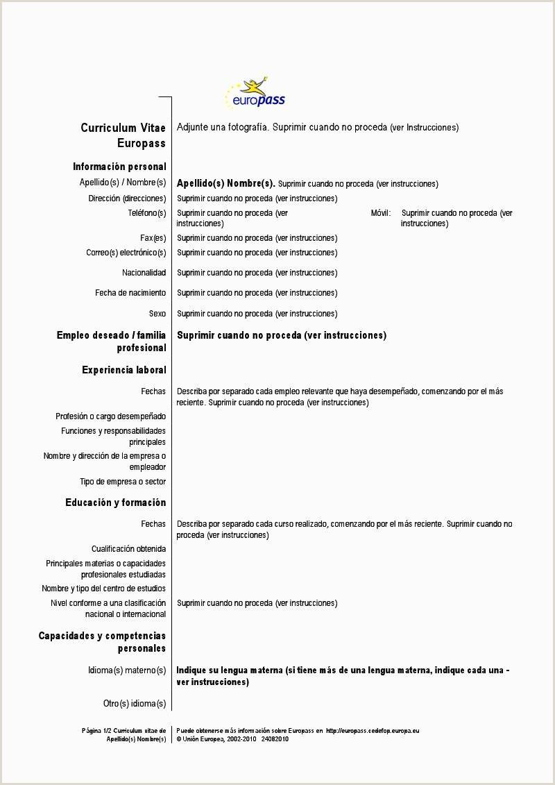 Ejemplo De Resume De Trabajo Awesome Un Curriculum Vitae