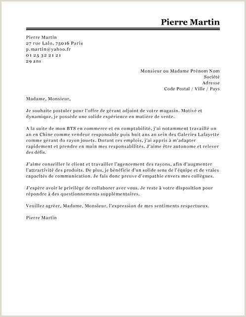 fre De Contrat D Apprentissage Nouveau Lettre De