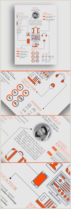 Les 27 meilleures images de CV créatifs en 2015