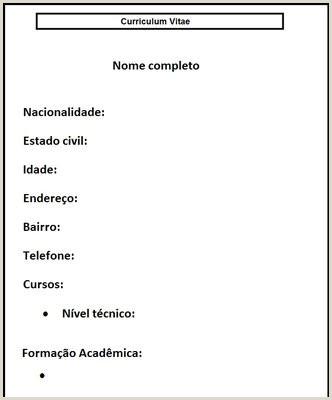 Curriculo Simples De Jovem Aprendiz Curriculum De Menor Aprendiz Avaré Guia Avaré Guia