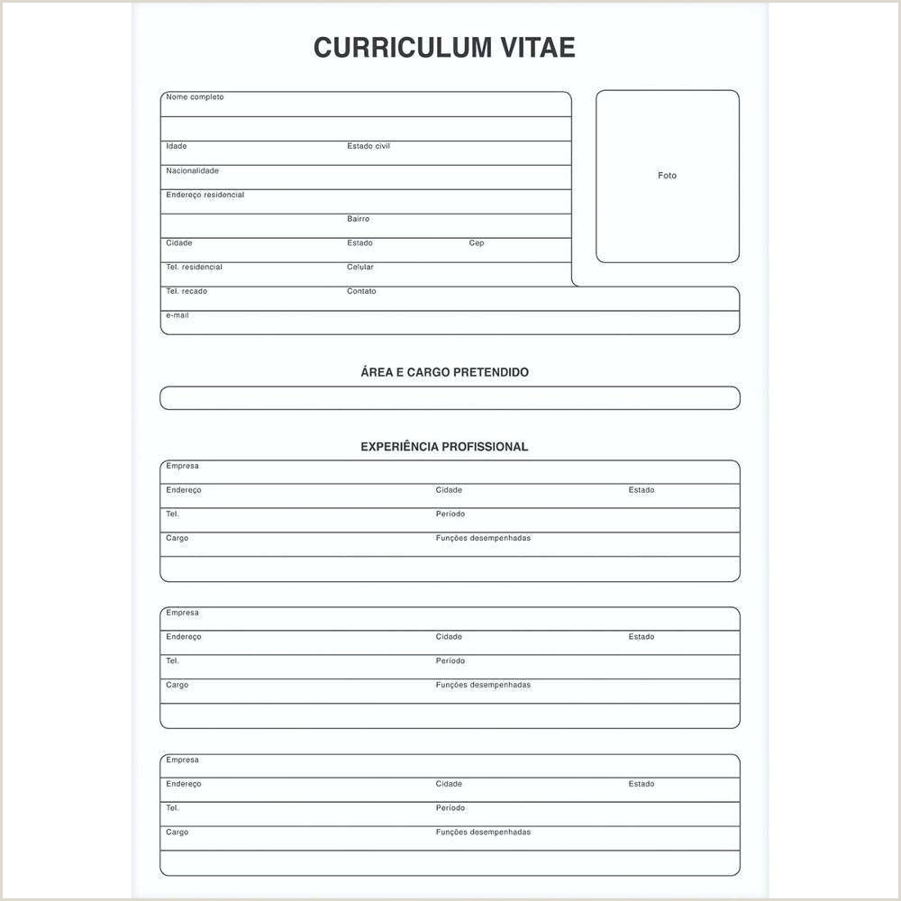 Curriculo Simples E Bom Pin Em Curriculos Curriculumvitae