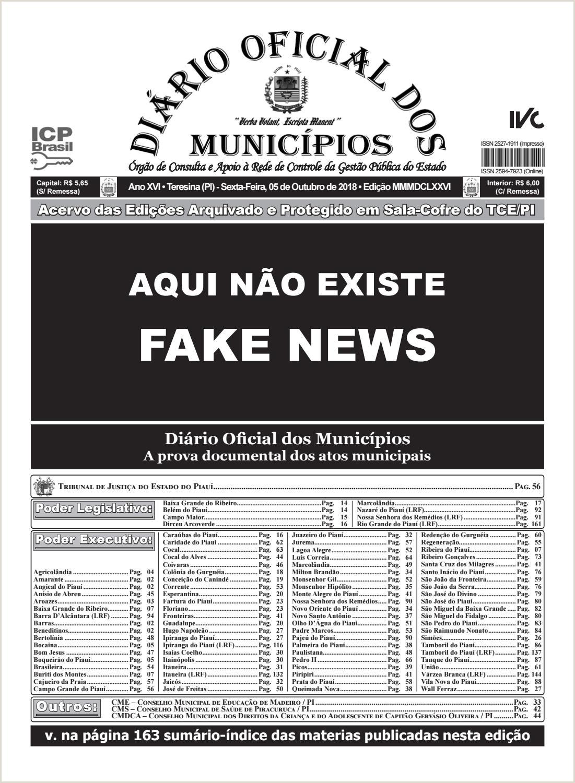 Edi§£o 3676 by Diário icial dos Municpios issuu