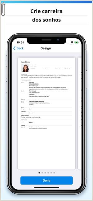 Curriculo Simples E Facil De Fazer Modelos De Curriculo Na App Store
