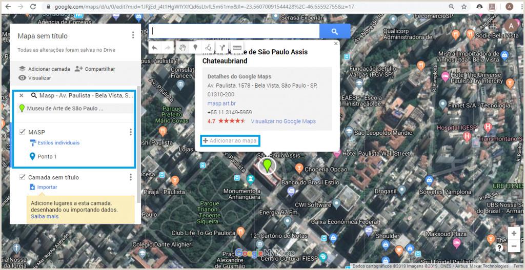 o criar um mapa personalizado para suas viagens o My Maps