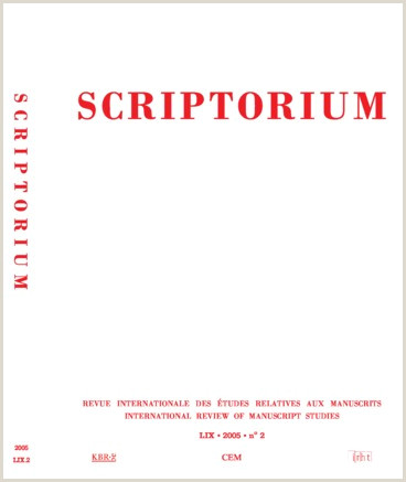 Curriculo Simples E Pronto Bulletin Codicologique Persée