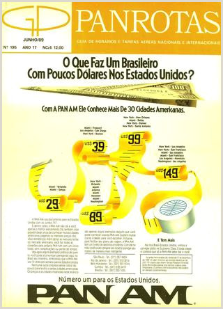 Guia PANROTAS Edi§£o 195 Junho 1989 by PANROTAS Editora