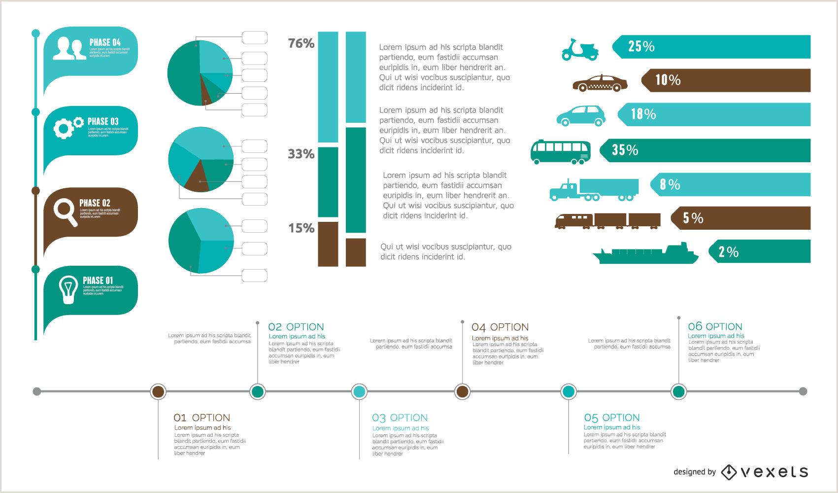 Curriculo Simples Editavel Pacote De Elemento Colorido Infográfico Em Estilo Simples