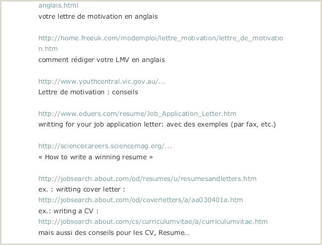 Curriculo Simples Em HTML 42 Beau Galerie De Lettre Motivation Anglais