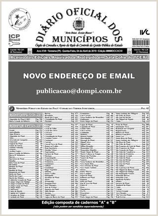 Edi§£o 3796 by Diário icial dos Municpios issuu