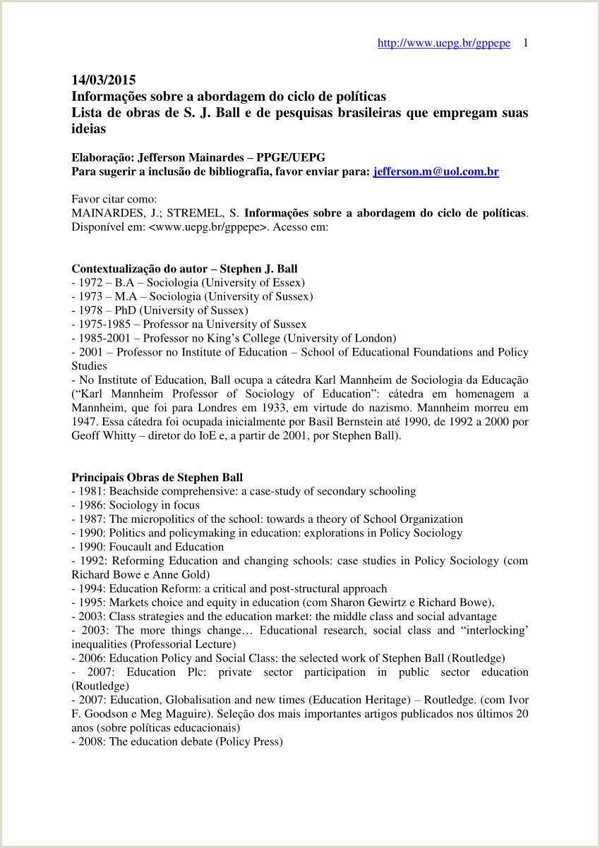 PDF Informa§µes sobre a abordagem do ciclo de polticas