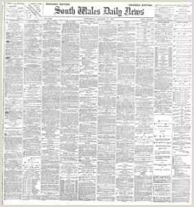 Advertising 1888 08 25 South Wales Daily News Welsh