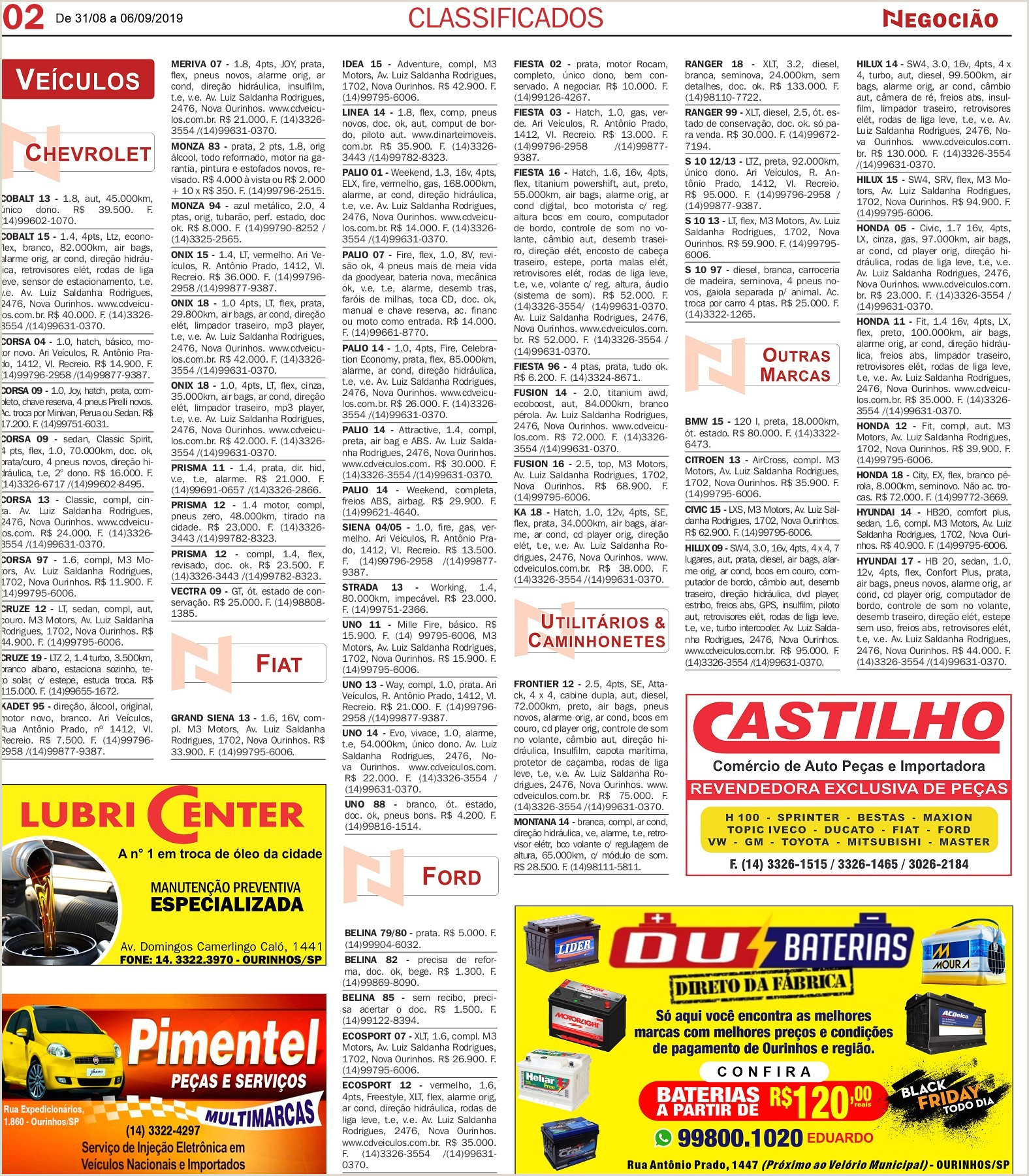 Classificados Pages 1 16 Text Version