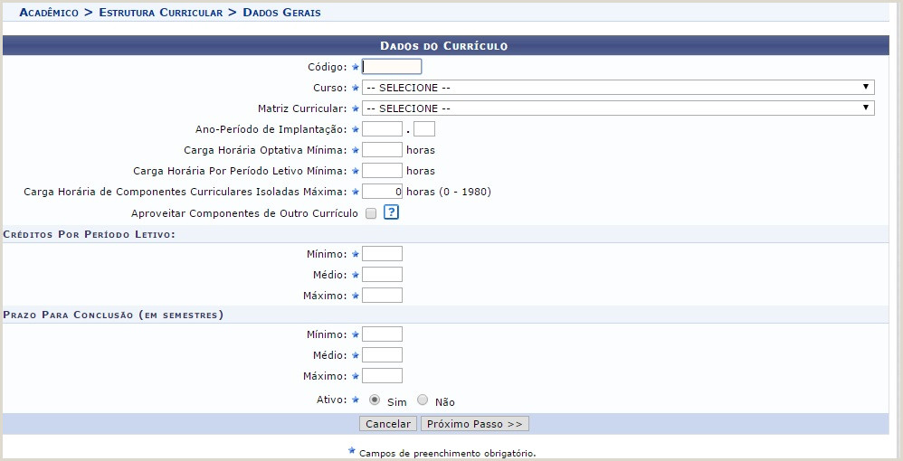Curriculo Simples O Que Colocar Proen Wiki Do if Sc
