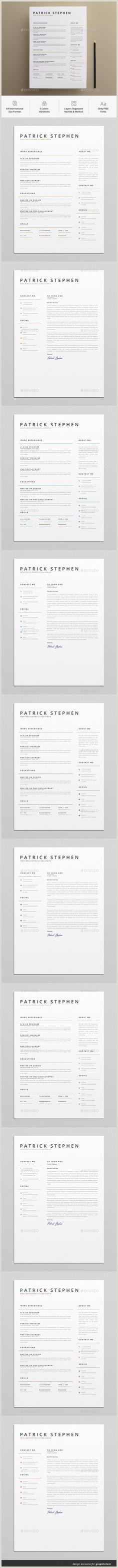 Curriculo Simples Online Com Foto 158 Meilleures Images Du Tableau Cv Design En 2019