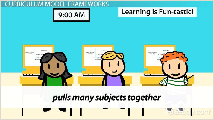 Types of Curriculum Models Video & Lesson Transcript