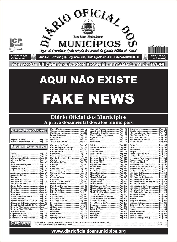 Edi§£o 3643 by Diário icial dos Municpios issuu