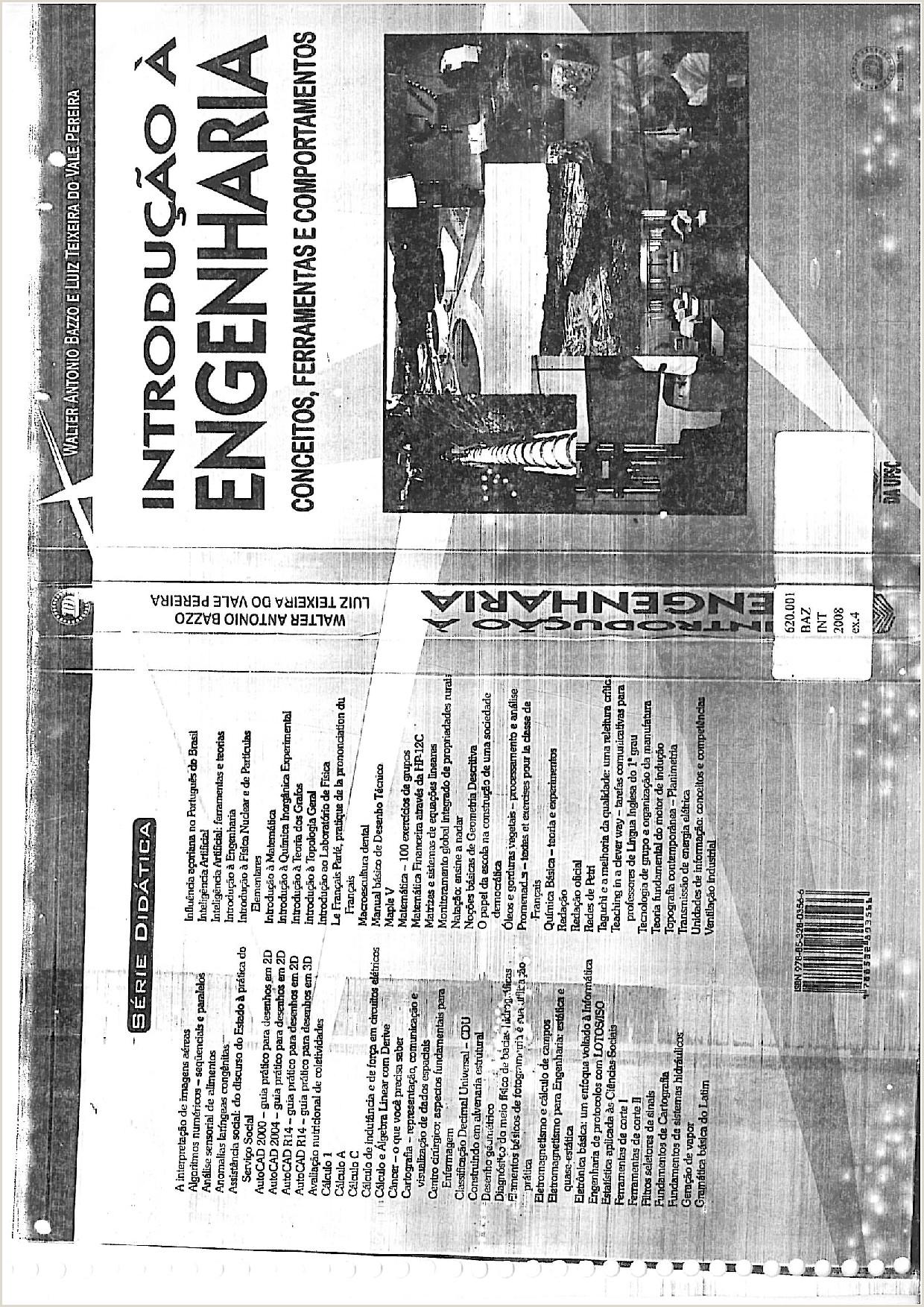 Curriculo Simples Para Baixar Livro De Introdu§£o A Engenharia Mec¢nica Introdu§£o A