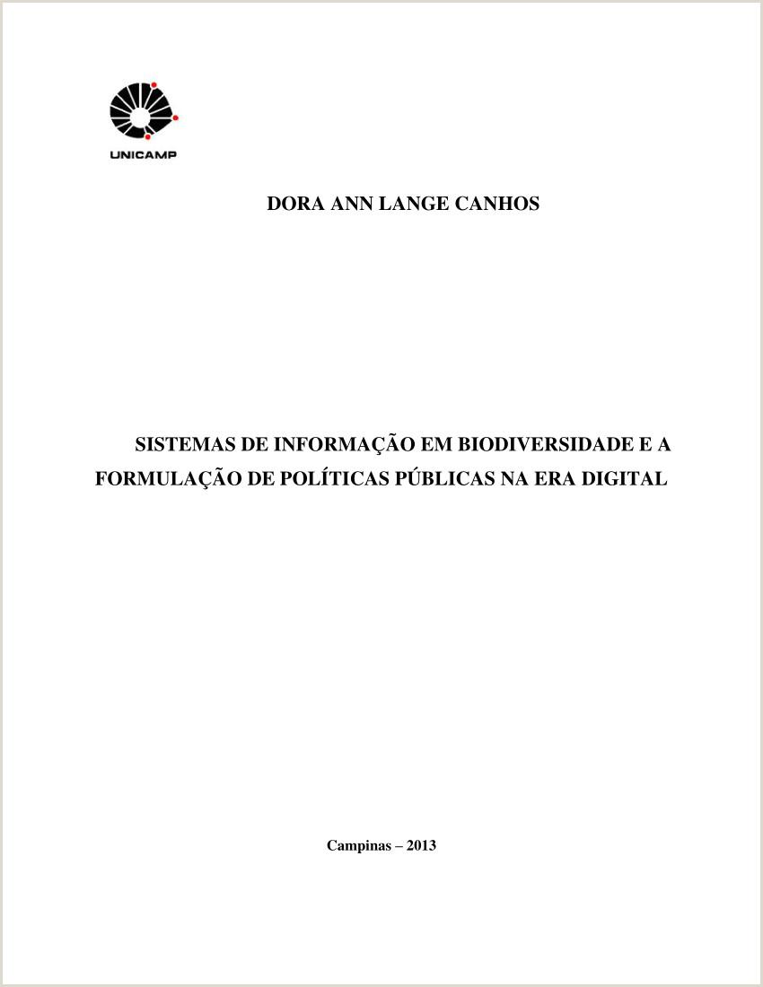 PDF Sistemas de informa§£o em biodiversidade e a formula§£o