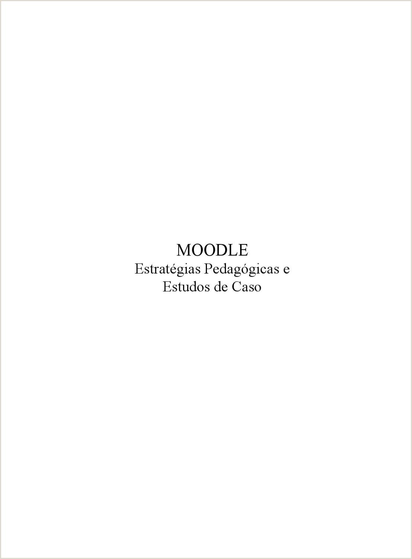 Moodle Estratégias Pedag³gicas e Estudos de Caso by Márcio